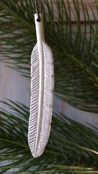 veer hanger  zilver