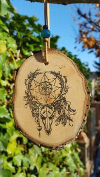 dreamcatcher skull.