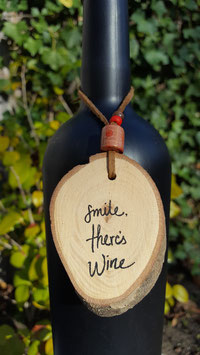 smile there's wine.