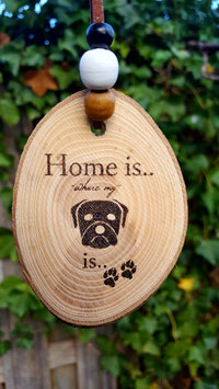 home is...dog