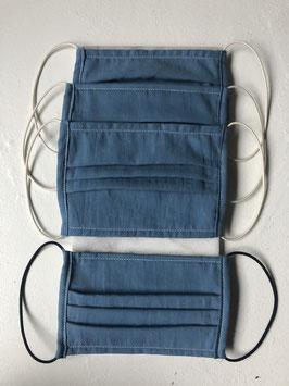 Mask - Indigo Blue with Elastic