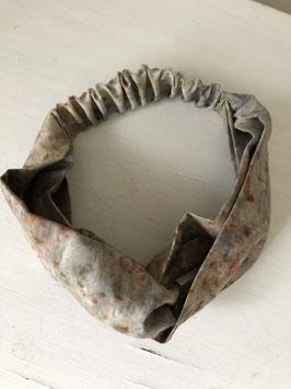Grey Fire -  Silk Headband