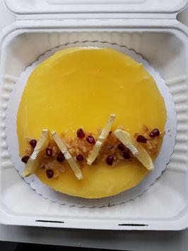 Zitrone-Sahne-Joghurt-Kuchen