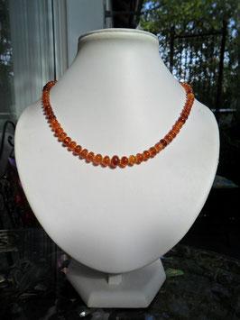 Spessartin-Collier (Mandarinen Granat)