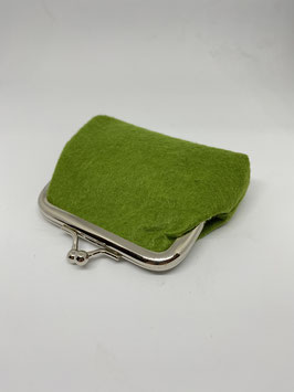 portamoneta piccoli 9x7cm verde col.8