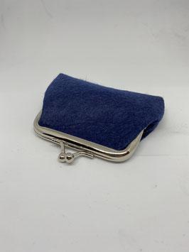 portamoneta piccoli 9x7cm blu col.5