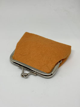 portamoneta piccoli 9x7cm arancione chiaro col.13