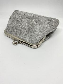 portamoneta grande 14x9cm grigio chiaro col.1
