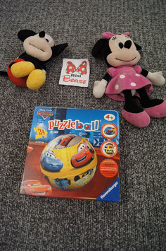 Spiel, Cars Puzzle Ball