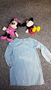 langarm Bluse Gr. 110, langarm Jeans Bluse