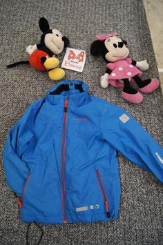 Jacke Gr. 110, blaue Regenjacke von  Trevolution (Kaputze fehlt)