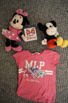 T-Shirt Gr. 110/116, pinkes T-Shirt mit My little Pony's