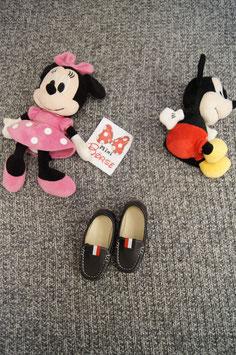 Schuhe Gr. 23, schwarze Leder Schuhe