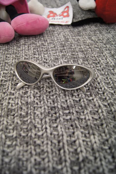 Sonnenbrille silbrig