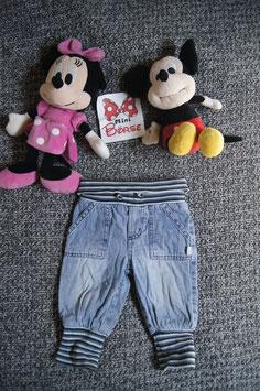Jeans. Gr.68, helle Jeans mit Wohlfühlbund