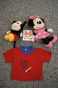 T-Shirt Gr. 80, rotes T-Shirt G-unt