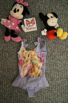 Badekleid Gr. 110, violettes Rapunzel Badekleid