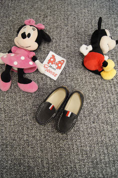 Schuhe Gr. 28, schwarze Leder Schuhe