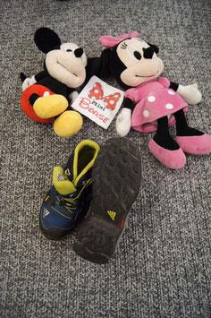 Schuhe Gr. 29, blaue Adidas Wanderschuhe, mit zugschnürung