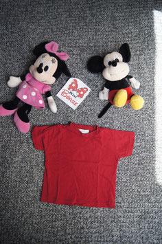 T-Shirt Gr. 68, rotes T-Shirt