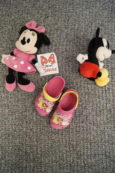 Schuhe Gr. 29, rosa Crocs mit Fee
