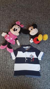 Polo Shirt Gr. 80, blau weiss gestreiftes Polo Shirt  Popeye