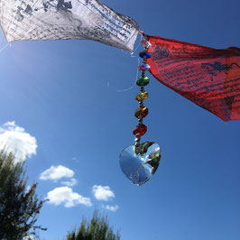 Cristaux chakra feng shui à suspendre - Metta - Coeur