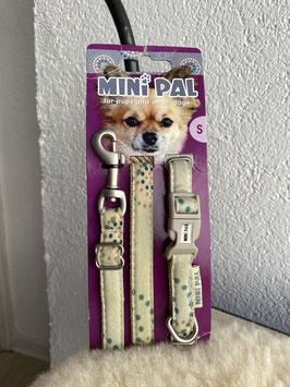 Mini Pal Halsband und Leine S*