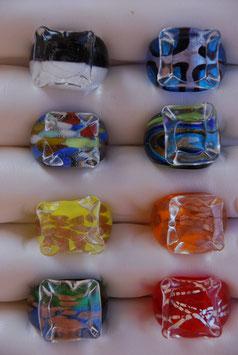 "Glas-Ring ""Glasquadrat"""