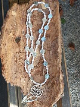 Lange Perlen Halskette Little Dreamcatcher