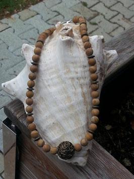 Jaspis Perlen Halskette Mina
