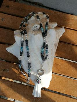 Lange Mala Perlen Halskette Izzy