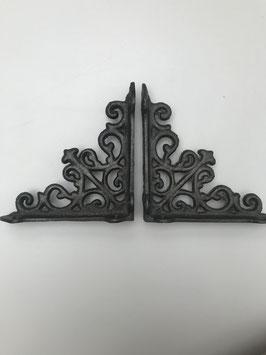 Set planken dragers-ijzer kleur