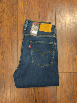 LEVI'S® 724™ High Rise Straight Jeans Dark Indigo - Damen