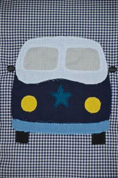 Kissenhülle, Kissen mit Bus