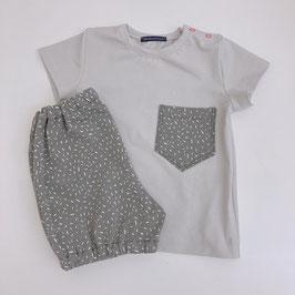 Sommer Set - 2- teiliges Sommer Set, Jungs Baby Kind Shorts kurze Hose T-Shirt