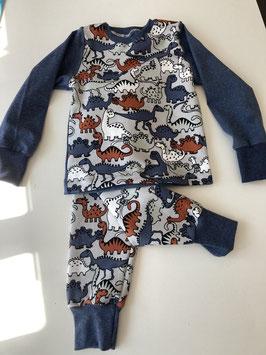 Set- Langarm Shirt und Pumphose- Dinosaurier