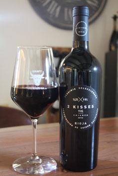 2 KISSES Tempranillo Rioja Crianza trocken