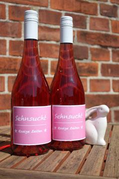 SEHNSUCHT ROSIGE ZEITEN Rosé halbtrocken