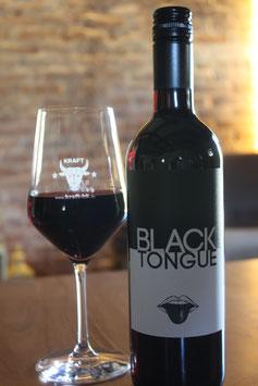 Black Tongue Rotwein-Cuvée feinfruchtig