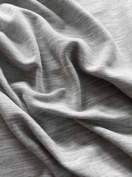 Jersey milano (punta) - couleur gris clair chiné