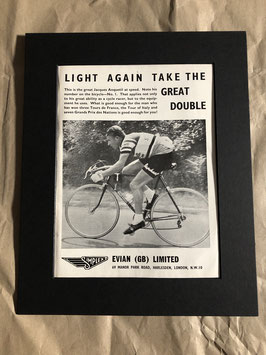 Original 1960s Card Mounted Simplex Advertisement...