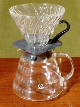 Kit Hario V60 filtre manuel 1/4 tasses