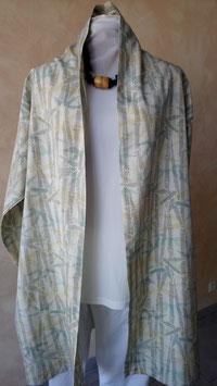 Longue jacket en soie