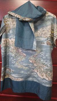 Tunique et l'écharpe