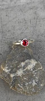 """Ring """"Farbenfroh"""" (Granat)"""