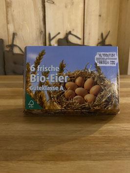 6 oder 10 Bio Eier, M