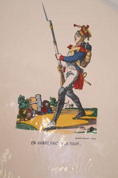 """Véritable image d'Epinal  """" En avant Fanfan la tulipe"""""""