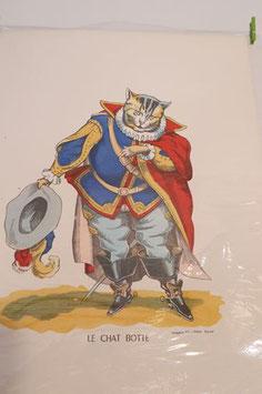 """Véritable image d'Epinal """" Le chat Botté"""""""