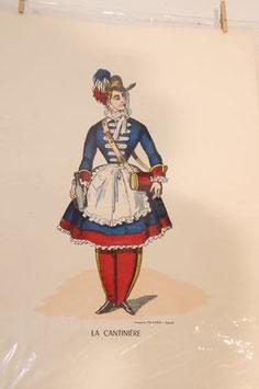 """Véritable image d'Epinal """" La cantinière"""""""